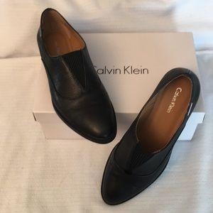 Calvin Klein Black Loafers, Never been worn.